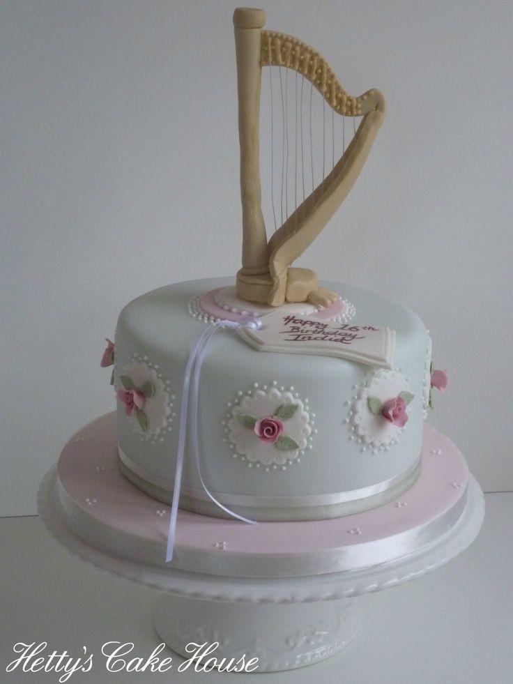 Harps Wedding Cakes  431 best Cake Fancy Cakes images on Pinterest