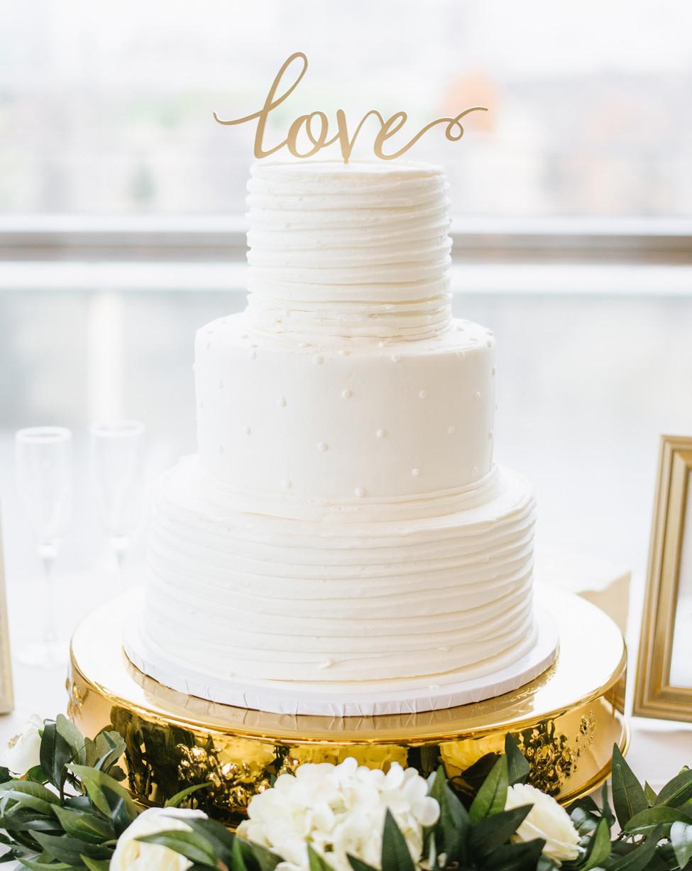 Harps Wedding Cakes  The McElmurrys