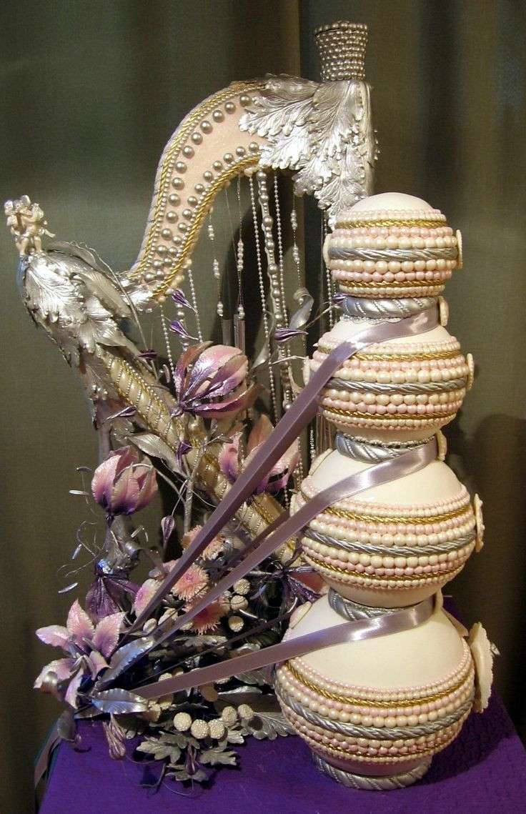 Harps Wedding Cakes  394 best images about Cake Fancy Cakes on Pinterest