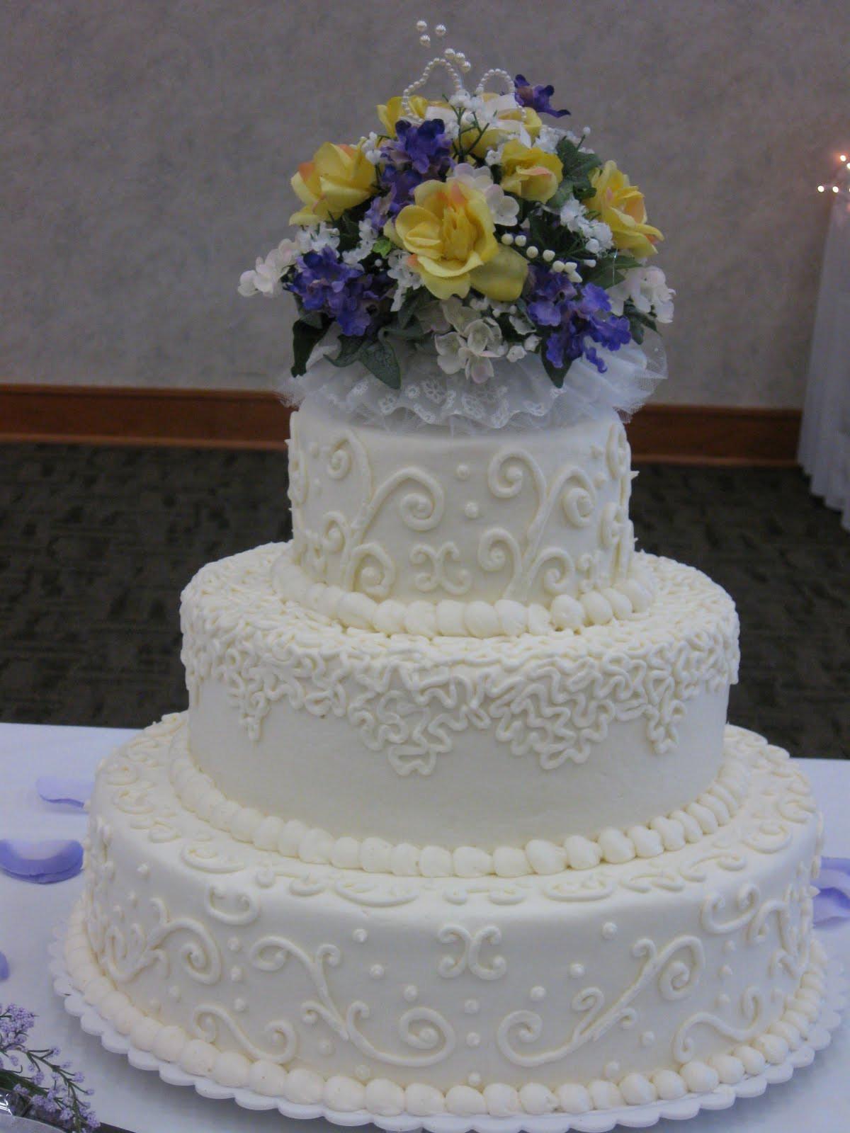 Harps Wedding Cakes  Amy Lodice Rochester NY Anniversary Cakes