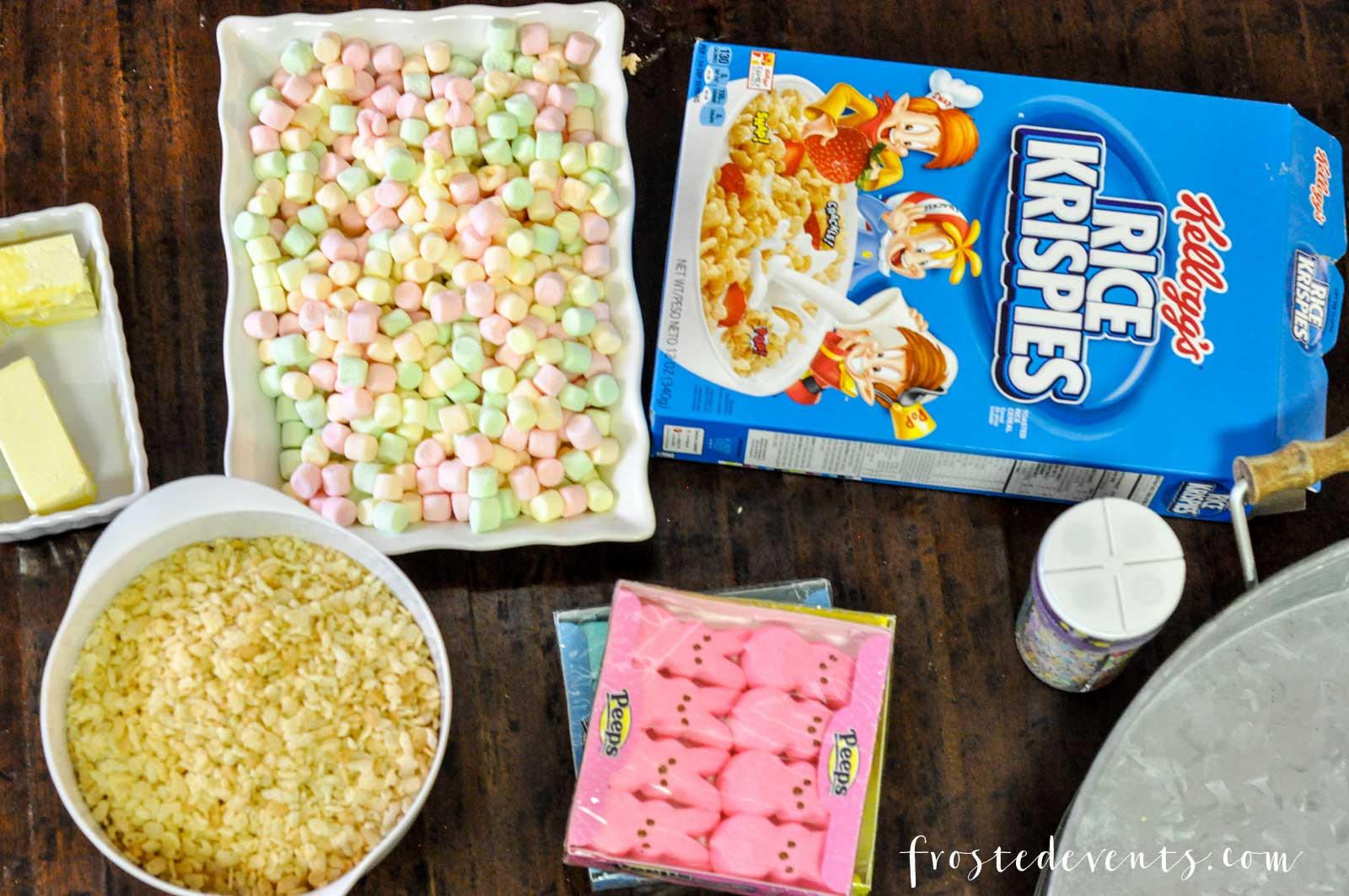 Harris Teeter Easter Dinner  Easter Treats How to Make Rice Krispie Peeps cute