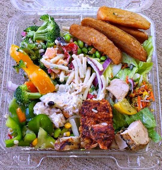 Harris Teeter Easter Dinner  Harris Teeter Salad Bar After My Appt – Simply Taralynn