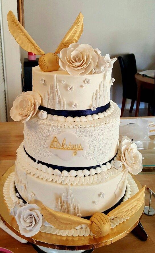 Harry Potter Wedding Cakes  25 best Harry potter cakes ideas on Pinterest