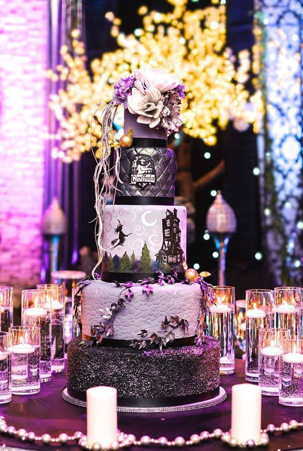 Harry Potter Wedding Cakes  Bridal Guide How to Plan a Magical Harry Potter Themed