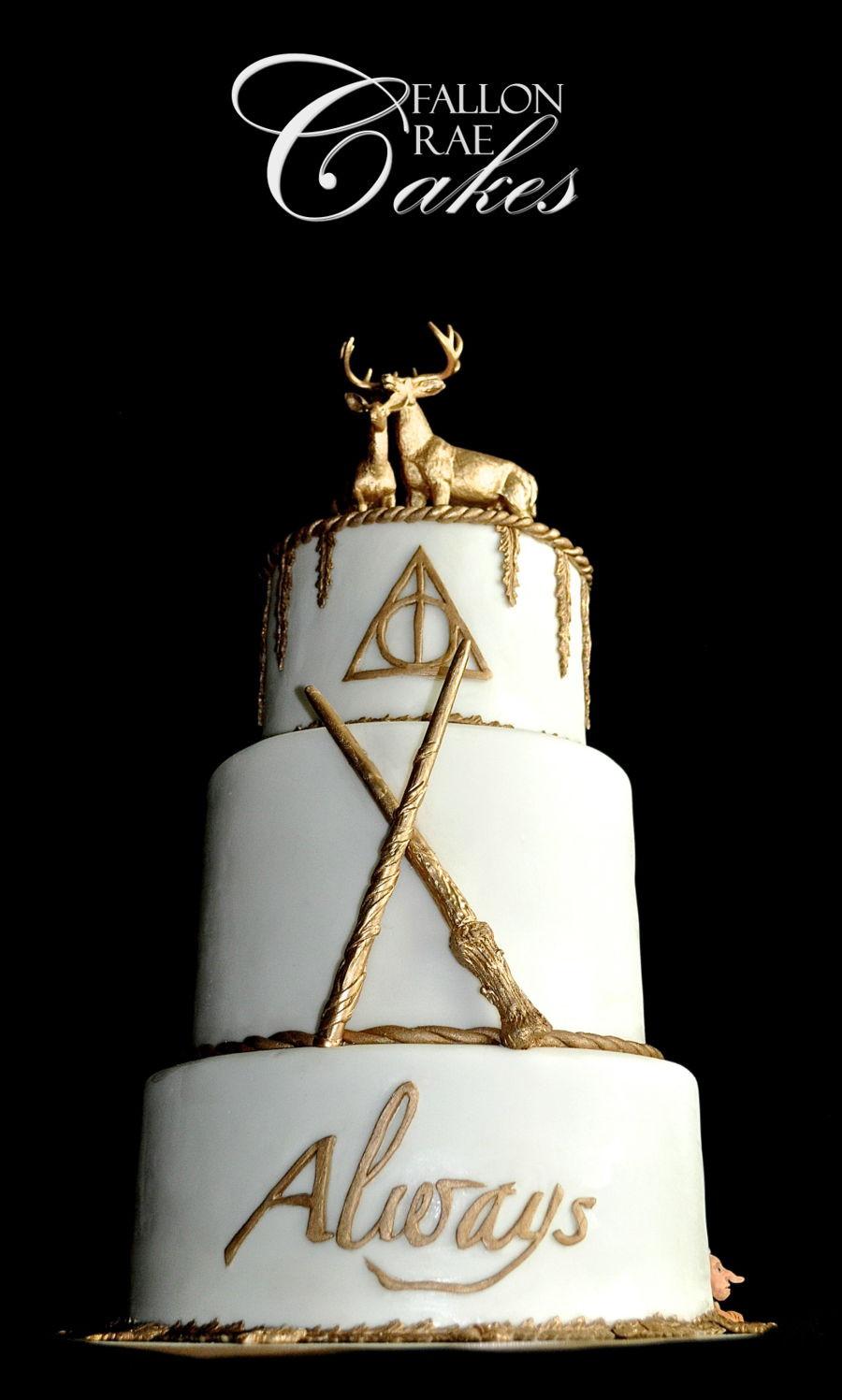 Harry Potter Wedding Cakes  Harry Potter Wedding Cake CakeCentral