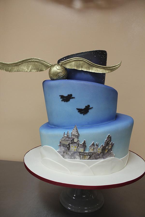 Harry Potter Wedding Cakes  Harry Potter Wedding Cake