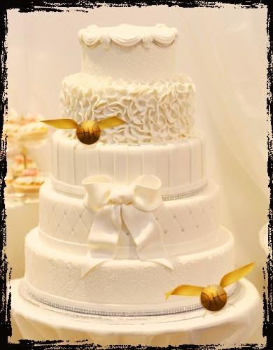 Harry Potter Wedding Cakes  7 Whimsically Awesome Harry Potter themed Wedding Ideas