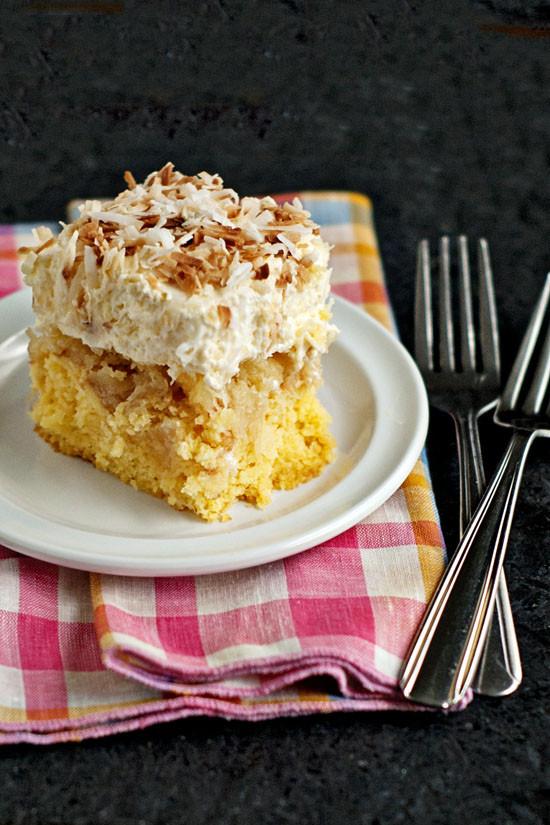 Hawaii Wedding Cake Recipe  Hawaiian Wedding Cake Cool Creamy Fruity and EASY
