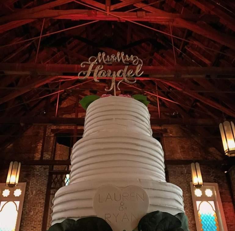 Haydels Wedding Cakes  Fleurty Girl and Ryan Haydel wed