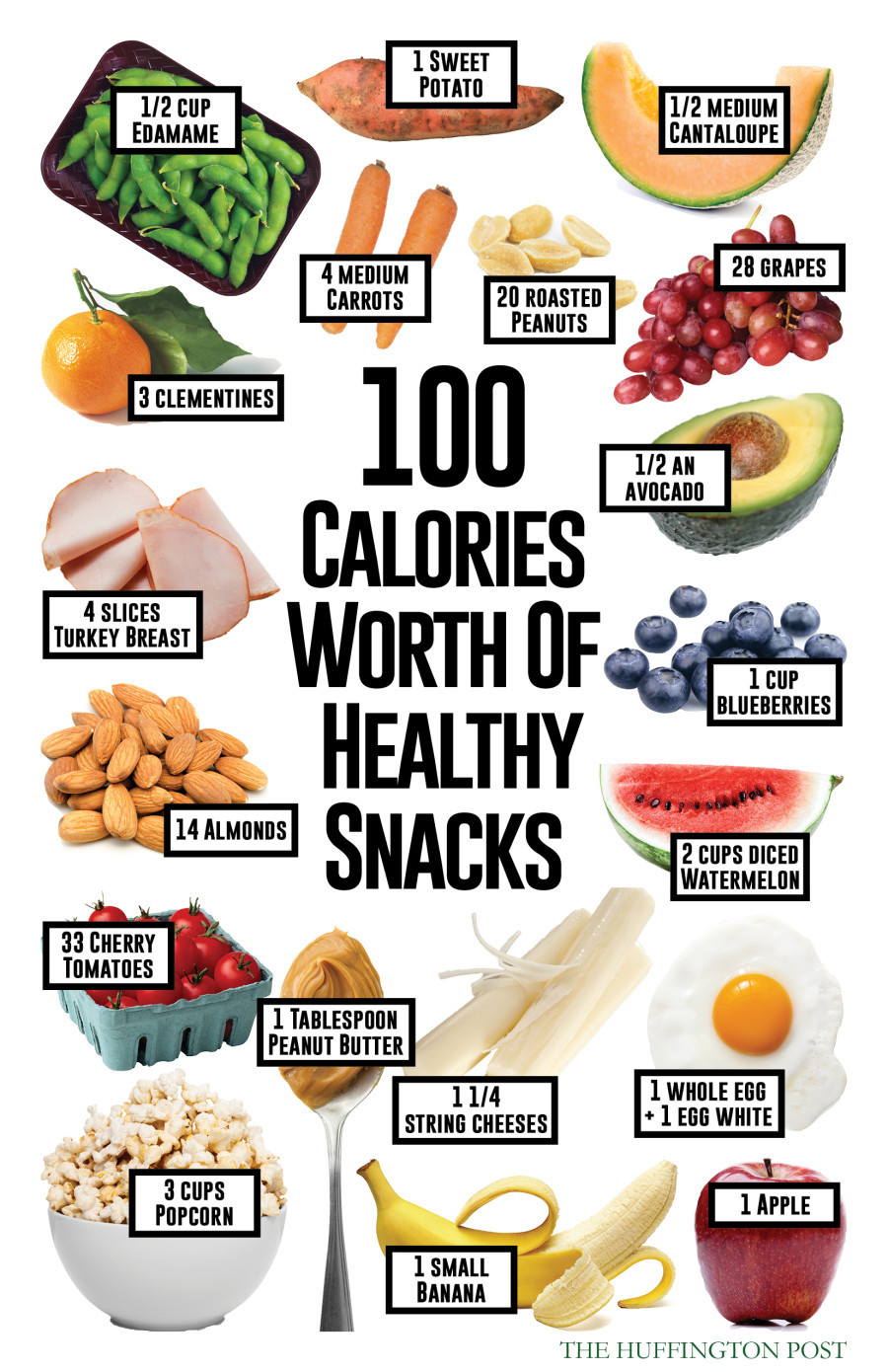 Healthy 100 Calorie Snacks  Here s What 100 Calories Worth Healthy Snacks Will Get