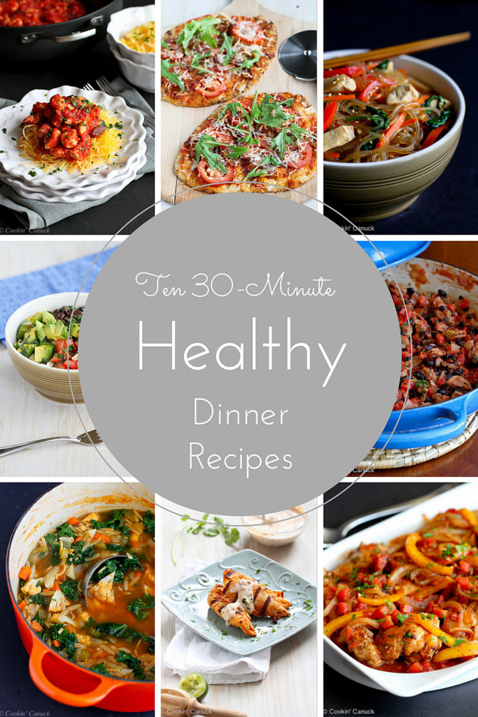 Healthy 30 Minute Dinners  Ten 30 Minute Healthy Dinner Recipes
