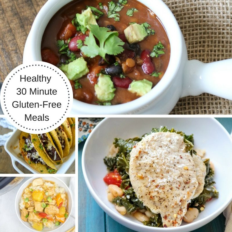 """Healthy 30 Minute Meals  Easy Healthy Gluten Free 30 Minute Meals A Mind """"Full"""" Mom"""