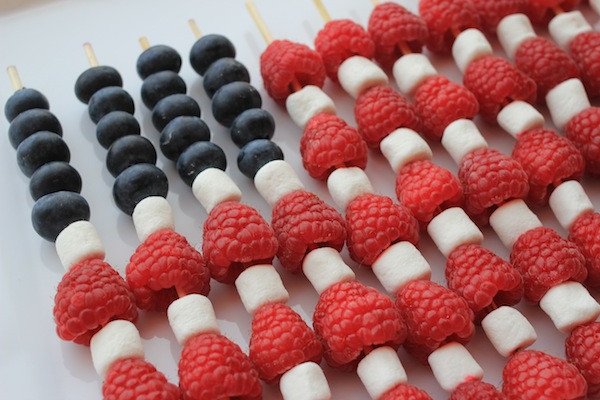 Healthy 4Th Of July Desserts  Naturally Red White Blue Fourth of July Food