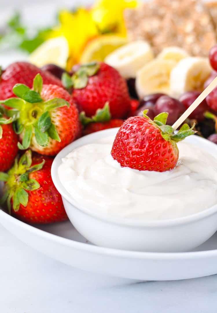 Healthy 5 Minute Desserts  5 Minute Poolside Fruit Dip The Seasoned Mom
