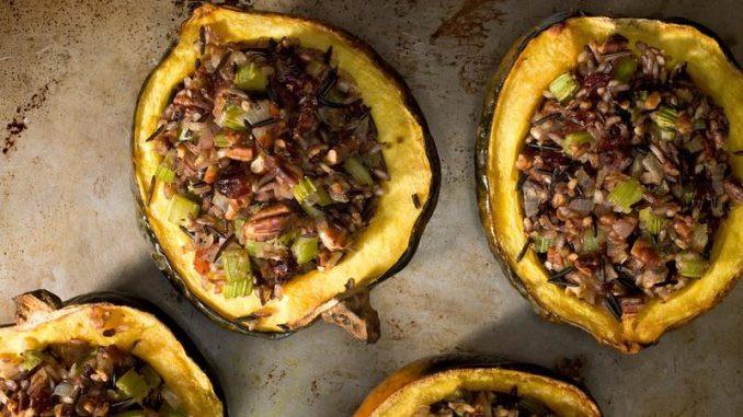 Healthy Acorn Squash Recipes  Healthy stuffed acorn squash recipes about health