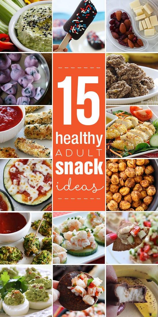 Healthy Adult Snacks  15 Healthy Adult Snacks