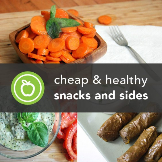 Healthy Affordable Snacks  416 Cheap and Healthy Snack and Side Dish Recipes
