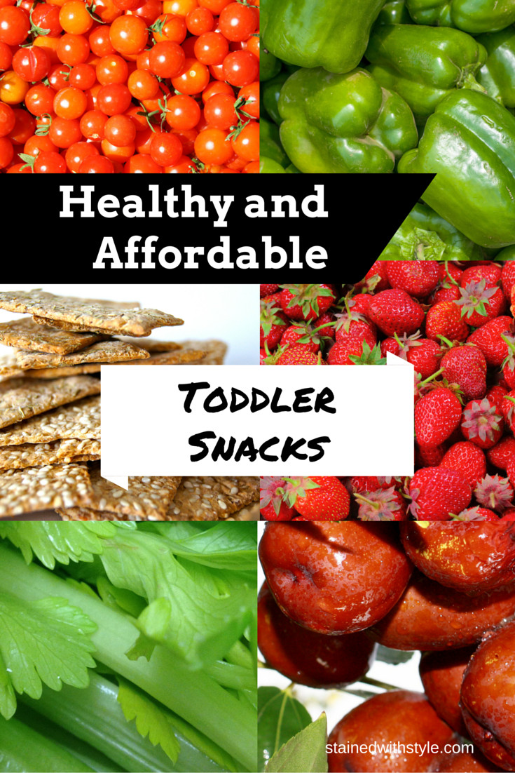 Healthy Affordable Snacks  Healthy and Affordable Toddler Snacks