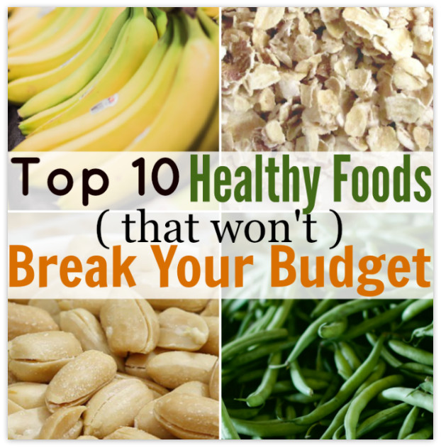 Healthy Affordable Snacks  Healthy Foods that are Affordable