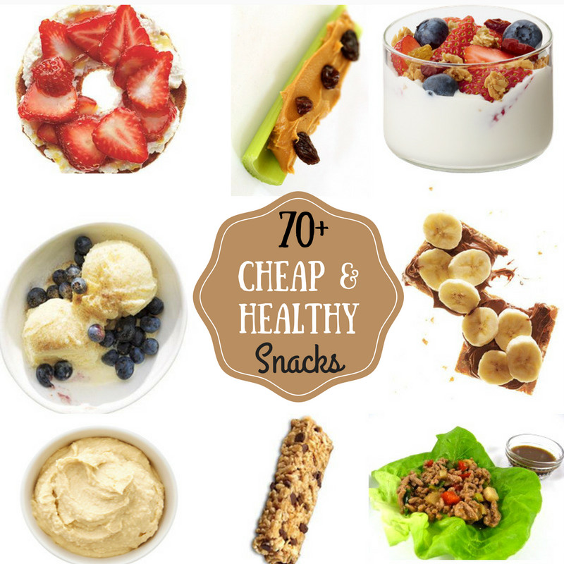 Healthy Affordable Snacks  70 Cheap & Healthy Snacks Prudent Penny Pincher