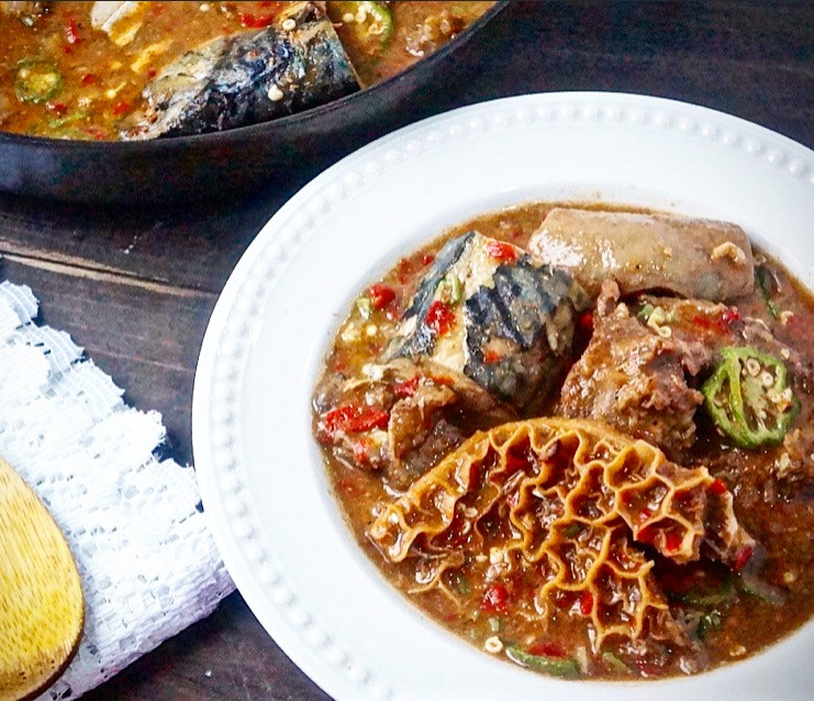 Healthy African American Recipes  Oil Free Okro Ogbono Soup