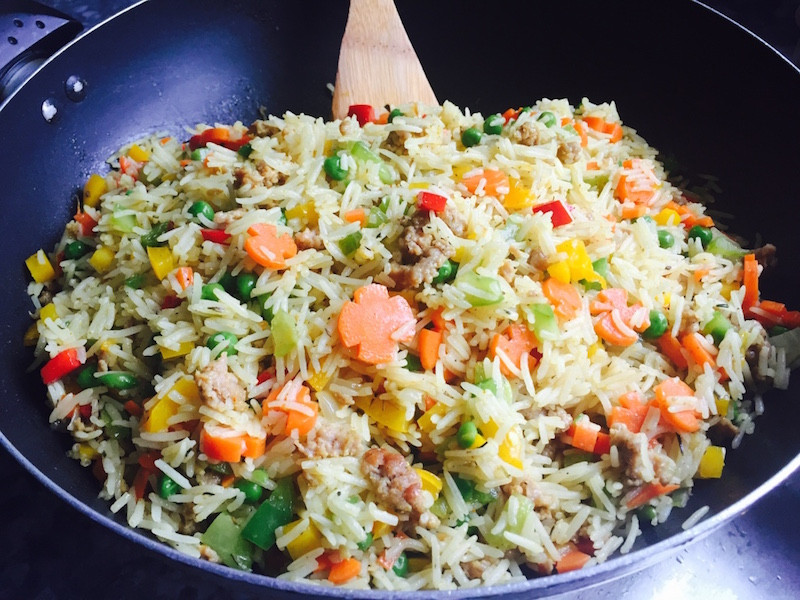 Healthy African American Recipes  The Perfect Nigerian Fried Rice