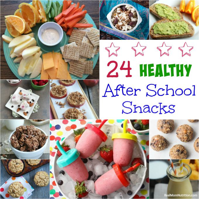 Healthy After Dinner Snacks  24 Healthy After School Snacks Real Mom Nutrition