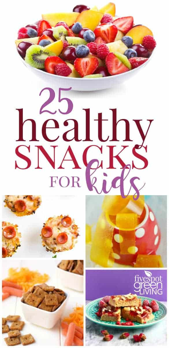 Healthy After Dinner Snacks  25 Kids Healthy Snack Ideas for After School Five Spot