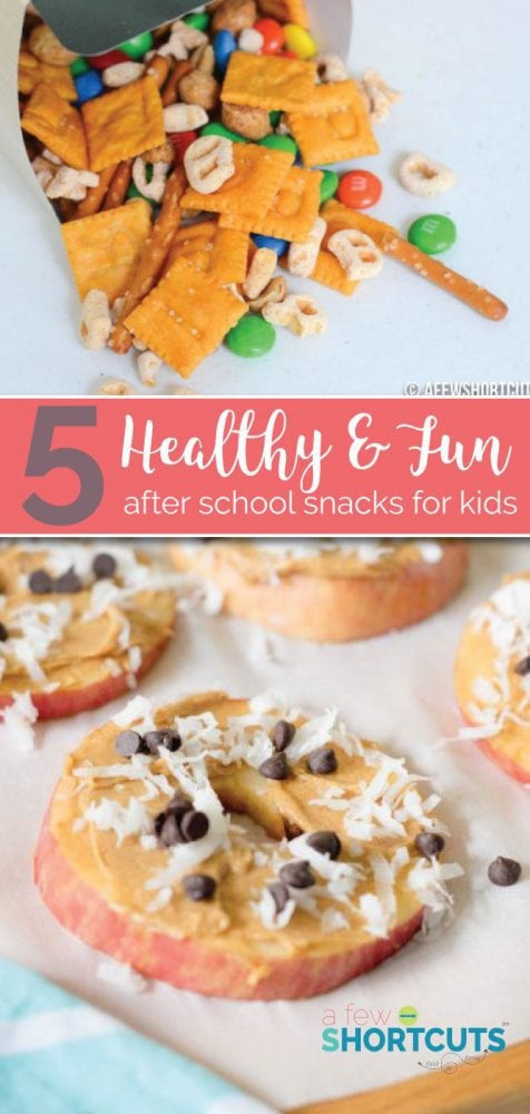 Healthy After Dinner Snacks  5 Fun & Healthy After School Snacks for Kids A Few Shortcuts