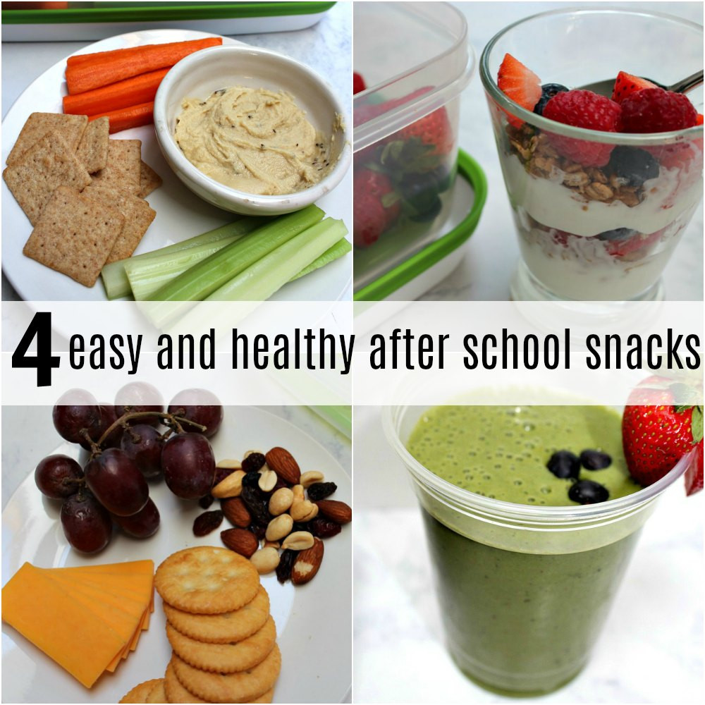 Healthy After School Snacks  4 Easy and Healthy After School Snacks Pieces of a Mom