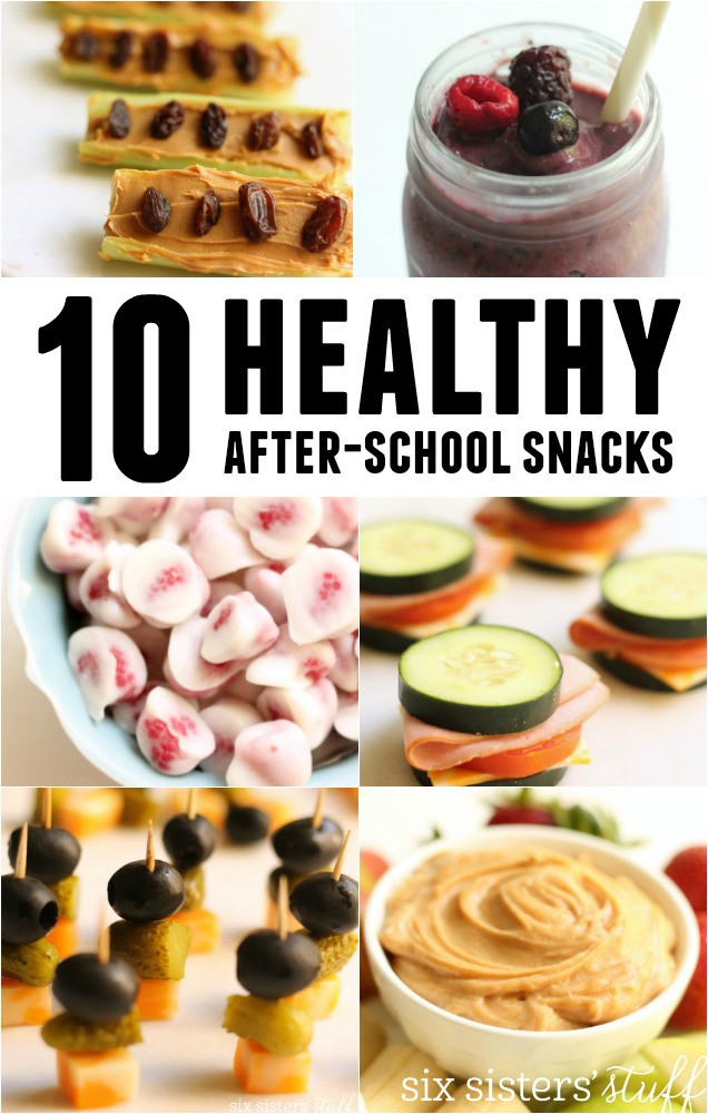 Healthy After School Snacks  10 Healthy After School Snacks – Six Sisters Stuff