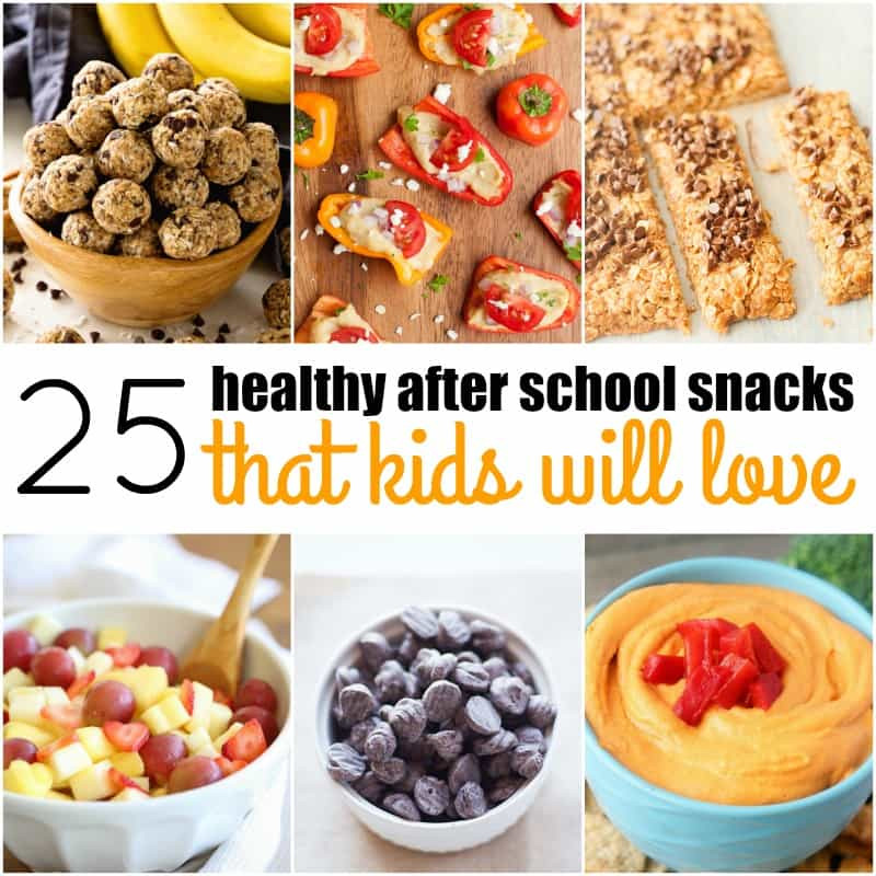 Healthy After School Snacks  25 Healthy After School Snacks That Kids Will Love ⋆ Real