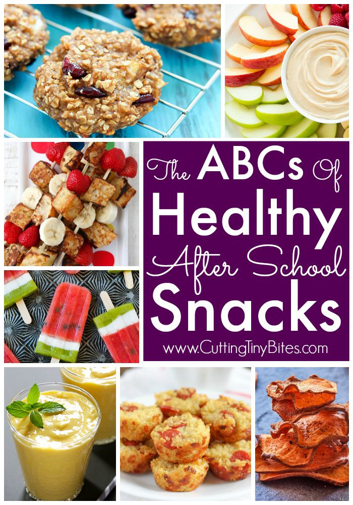 Healthy After School Snacks  The ABCs of Healthy After School Snacks
