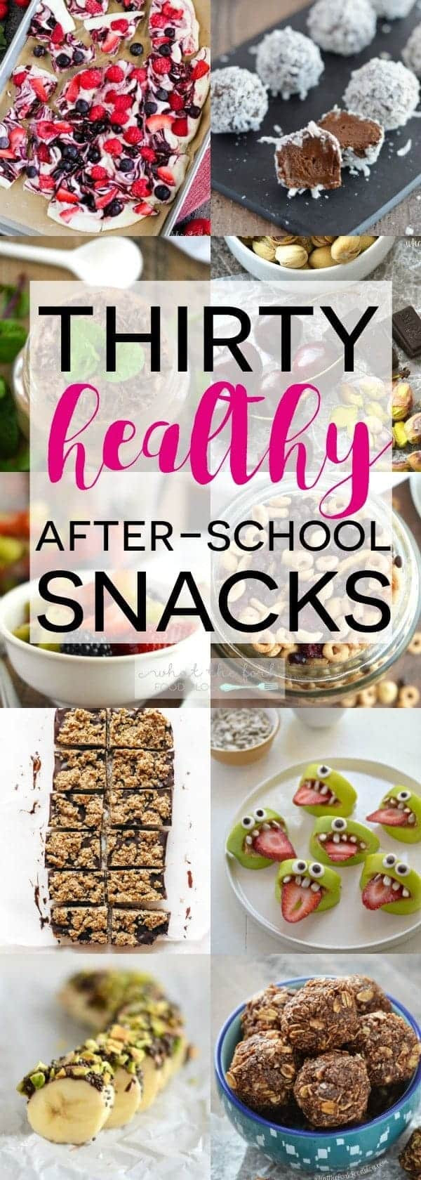 Healthy After School Snacks  30 Healthy After School Snacks What the Fork