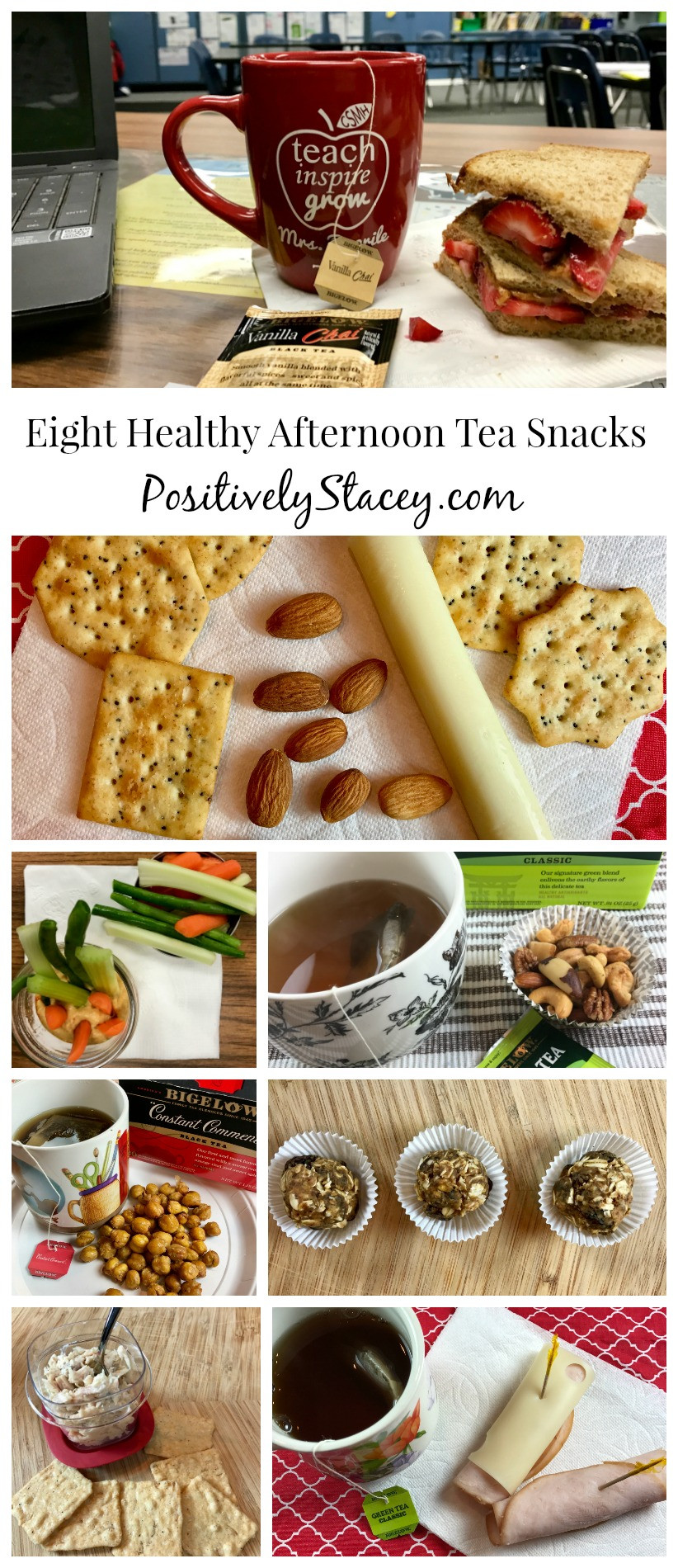 Healthy Afternoon Snacks For Work  Eight Healthy Afternoon Tea Snacks Positively Stacey
