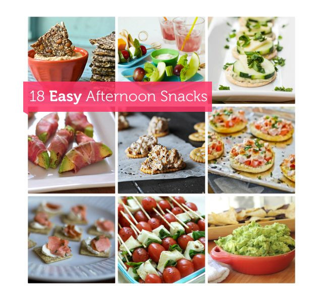 Healthy Afternoon Snacks For Work  21 best images about School snacks on Pinterest
