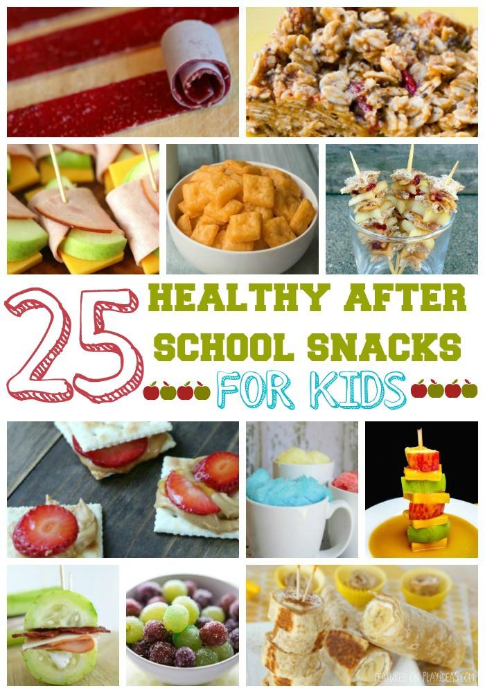 Healthy Afterschool Snacks  25 Healthy After School Snacks For Kids