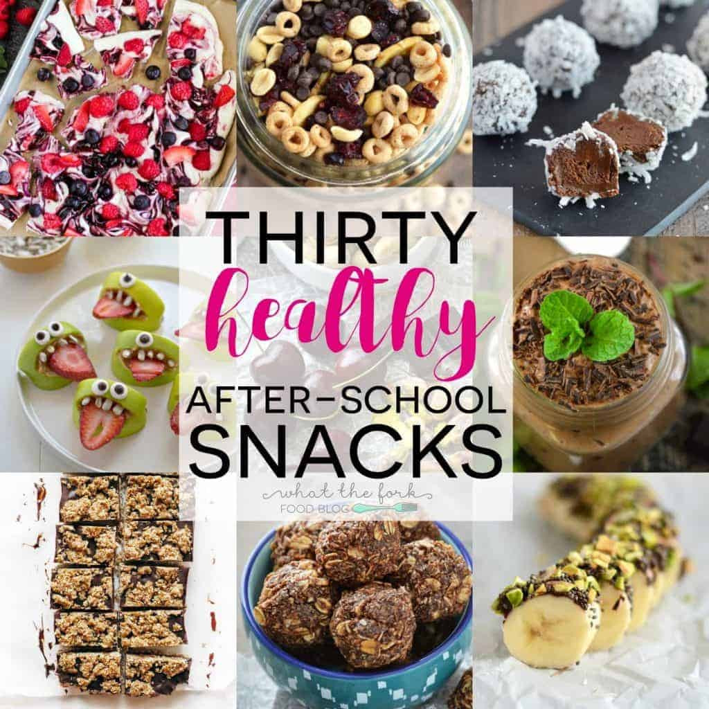 Healthy afterschool Snacks Best 20 30 Healthy after School Snacks What the fork