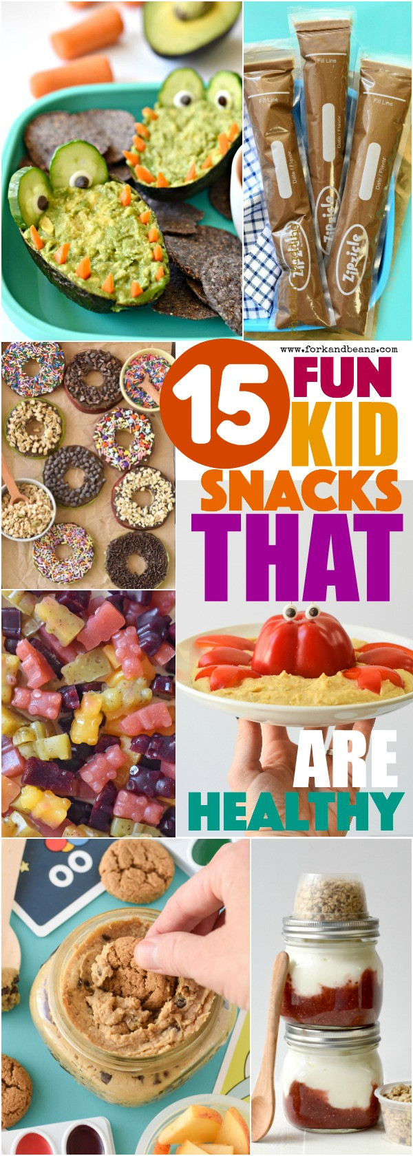 Healthy Afterschool Snacks For Weight Loss  Healthy After School Snacks Fork and Beans
