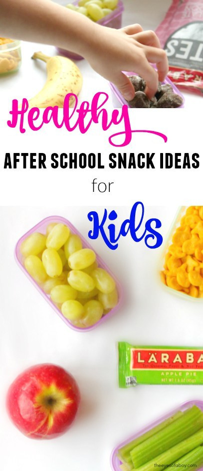Healthy Afterschool Snacks For Weight Loss  Healthy After School Snack Ideas for Kids The Eyes of a Boy