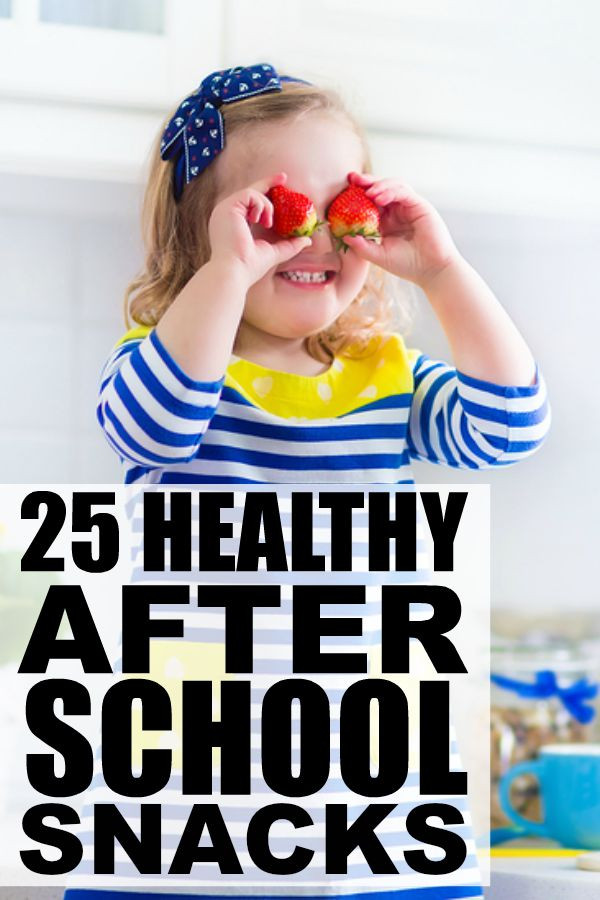 Healthy Afterschool Snacks For Weight Loss  25 healthy after school snacks for kids