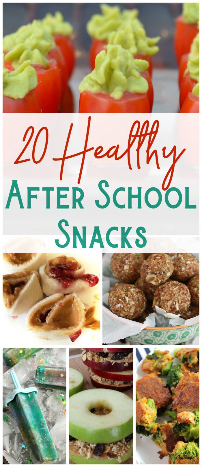 Healthy Afterschool Snacks  20 After School Snacks The Shirley Journey