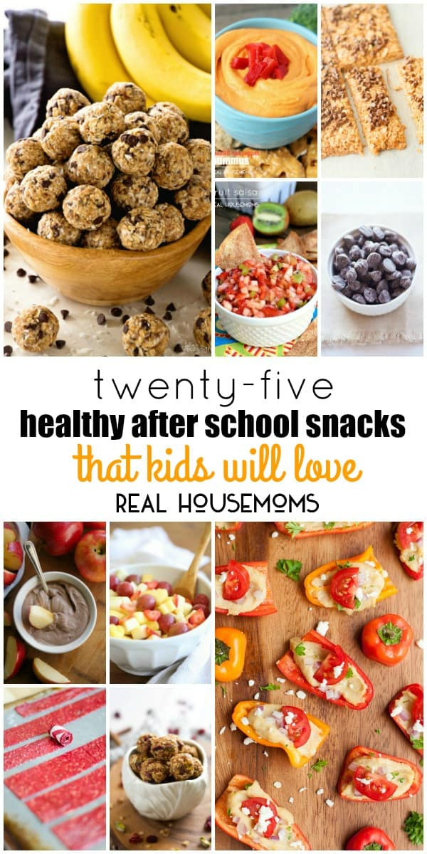 Healthy Afterschool Snacks  25 Healthy After School Snacks That Kids Will Love ⋆ Real