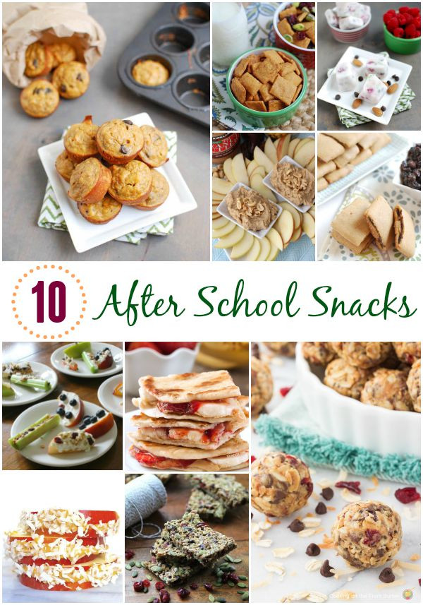 Healthy Afterschool Snacks  Healthy After School Snacks For Kids