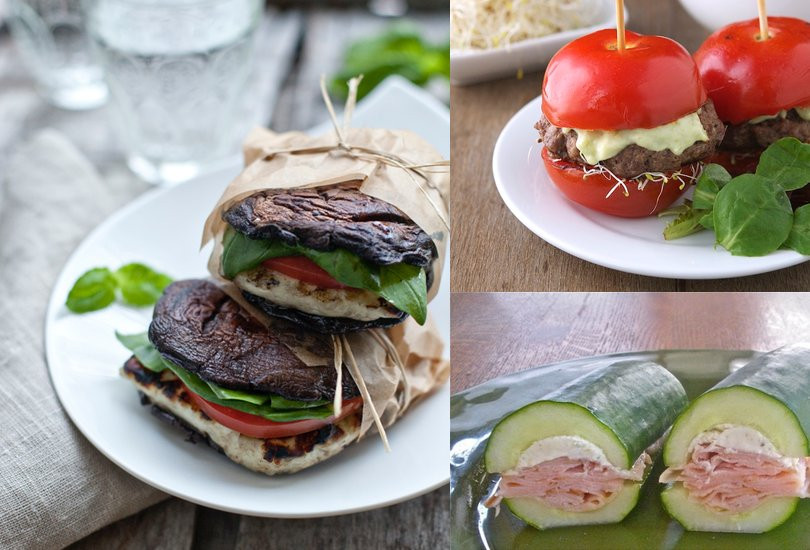 Healthy Alternative To Bread  Paleo Sandwiches 15 No Bread Sandwich Solutions