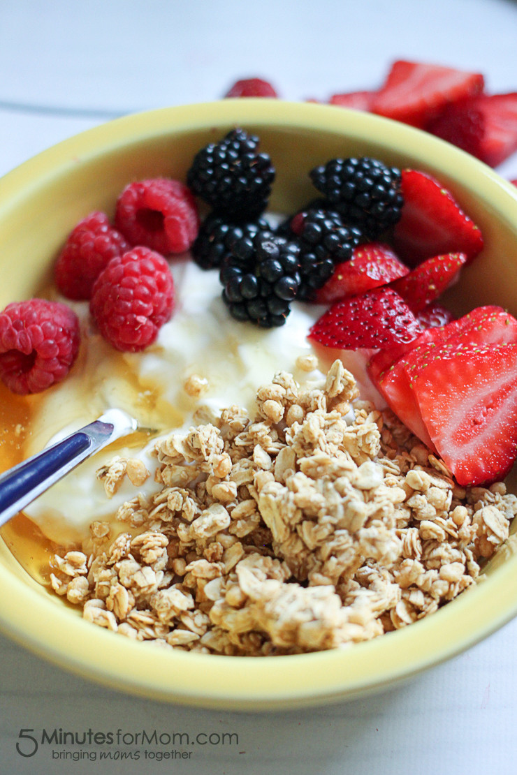 Healthy and Delicious Breakfast 20 Best Ideas Delicious & Healthy Breakfast Bowl with Chobani Greek Yogurt