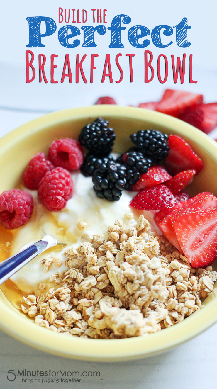 Healthy And Delicious Breakfast  Delicious and Healthy Breakfast Bowl with Greek Yogurt