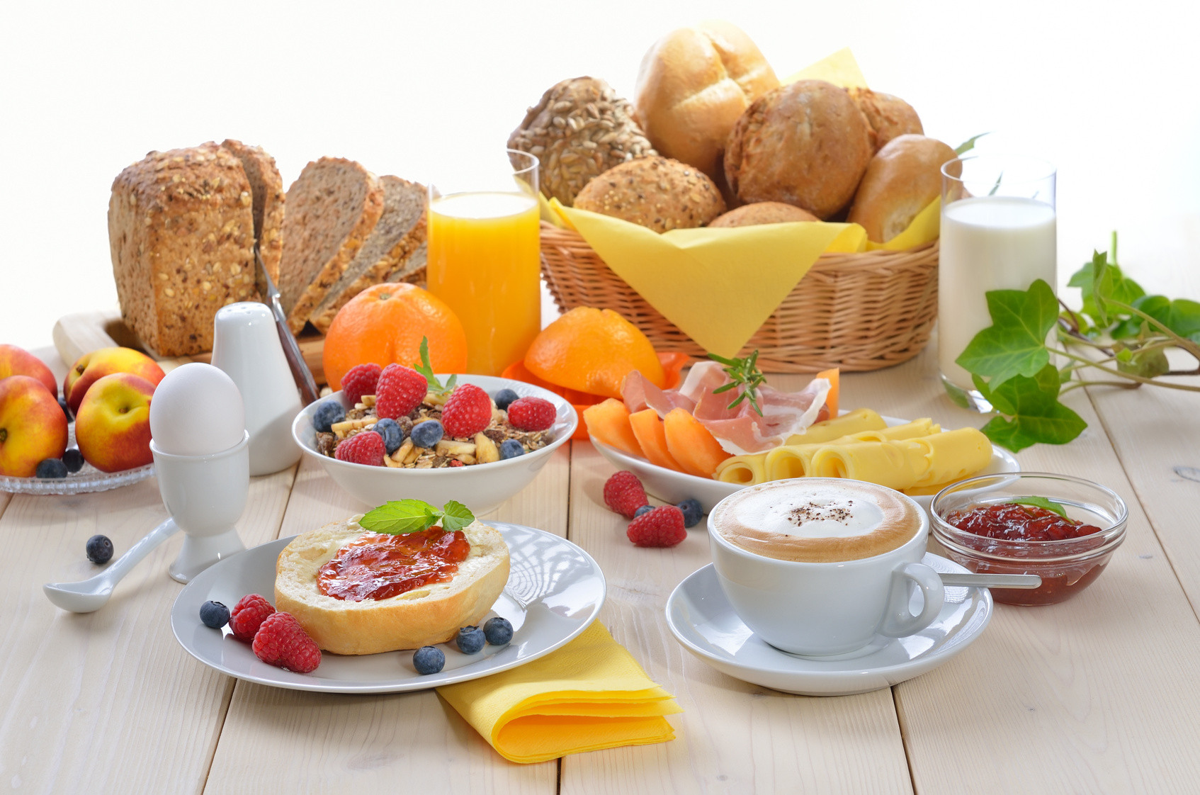 Healthy And Delicious Breakfast  Buffet Breakfast Hotel La Serena