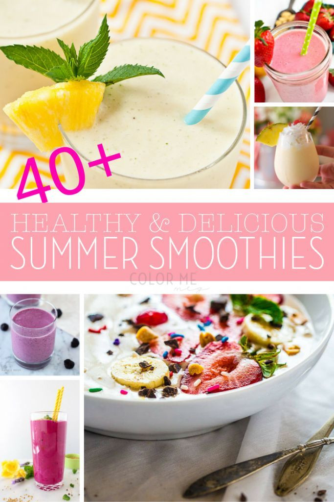 Healthy And Delicious Smoothies  1000 images about Picnic and Summer Recipes on Pinterest