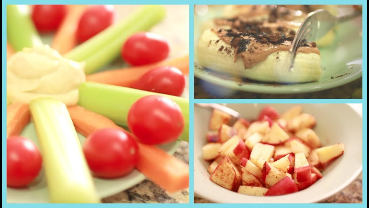 Healthy And Easy Snacks  Healthy Snacks for After School ♡ Quick and Easy